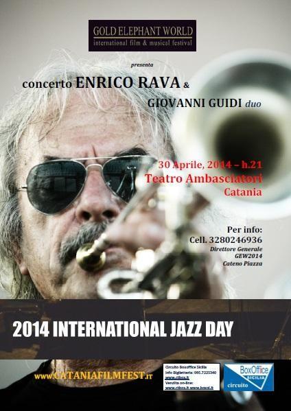 2014 International Jazz Day & Gold Elephant World Awards - Tumit Eventi