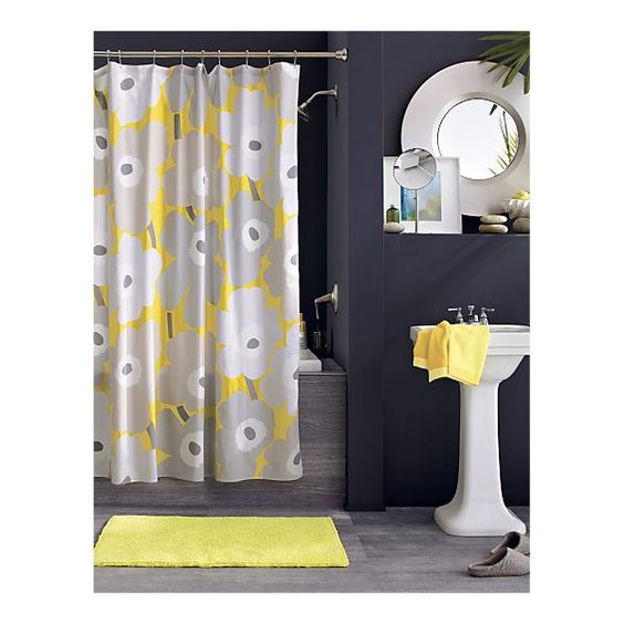 Yellow Bathroom Paint: Grey, Gray Bathrooms And Crates