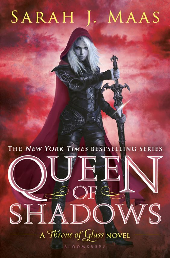 #CoverReveal Queen of Shadows (Throne of Glass, #4) by Sarah J. Maas: