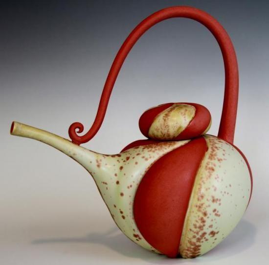 Marsha Silverman : Ceramic Teapots, Silverman Teapot, Tea Pot, Ceramics Teapots, Gorgeous Teapots, Pottery Teapots, Whimsical Teapots, Teapots I Ve
