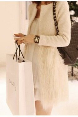 Canada Goose montebello parka online fake - Stunning faux fur coat with hook and eye button closure | Aylin ...