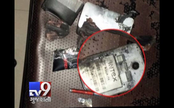 Surat : One such battery set ablaze while in a man's pocket. The man was sitting with his Intex mobile phone in his pocket when the battery caught on fire. giving him second-degree burns and a  wound on his chest. The incident took place in Puna Village of Surat city. A man has been sent to nearby hospital to get treatment and he is stable now.   Subscribe to Tv9 Gujarati https://www.youtube.com/tv9gujarati Follow us on Dailymotion at http://www.dailymotion.com/GujaratTV9