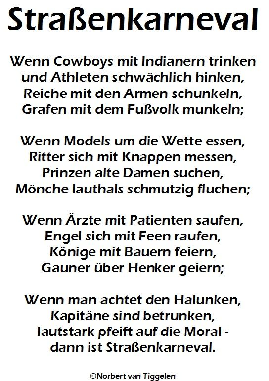 Tolle Texte Fur Gastebuch Eintrage Und Grusse Autor Norbert Van Tiggelen Gedichtband Gedichte Tolle Gedichte