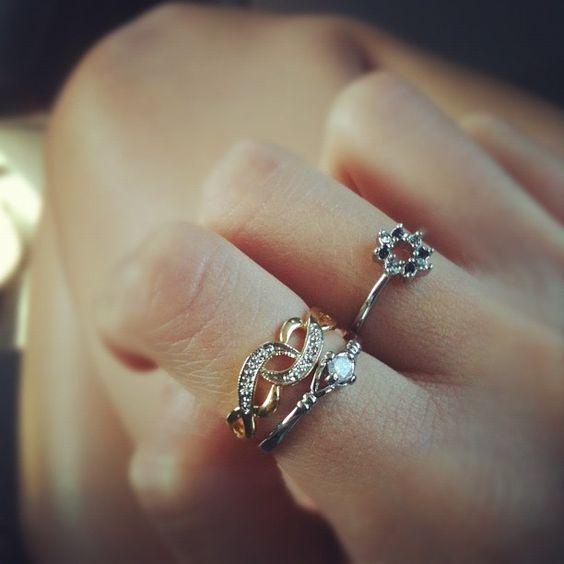 Petite Paris Rings http://jmnt.co/QWqjSc