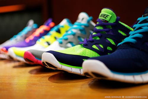 Nike Running shoes-love the look of the frees :)