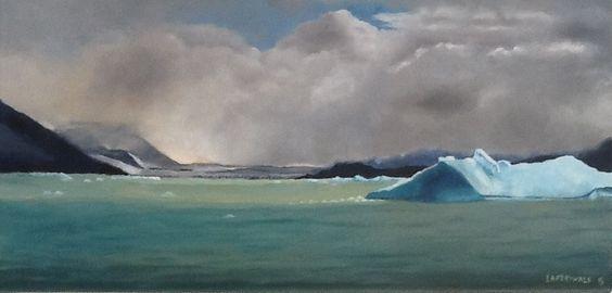 Los hielos flotantes, Irene Freiwald - arte901.com