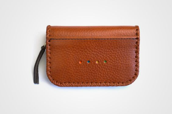 Untold Leather Zip Coin Wallet