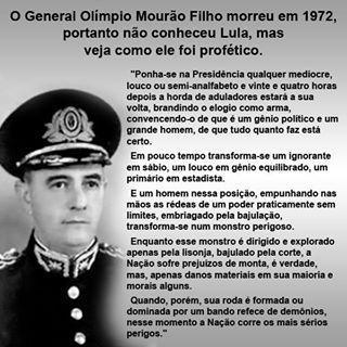 GUAPIMIRIM REAGE BRASIL.: General Mourão Filho Morreu em 1972 e previu o Bra...