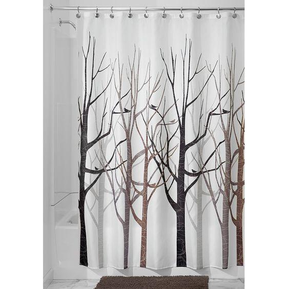 InterDesign Forest Shower Curtain: Amazon.ca: Home & Kitchen ...