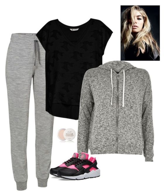 """Untitled #970"" by azra-99 ❤ liked on Polyvore featuring Icebreaker, Bobeau, River Island, NIKE and Fresh"