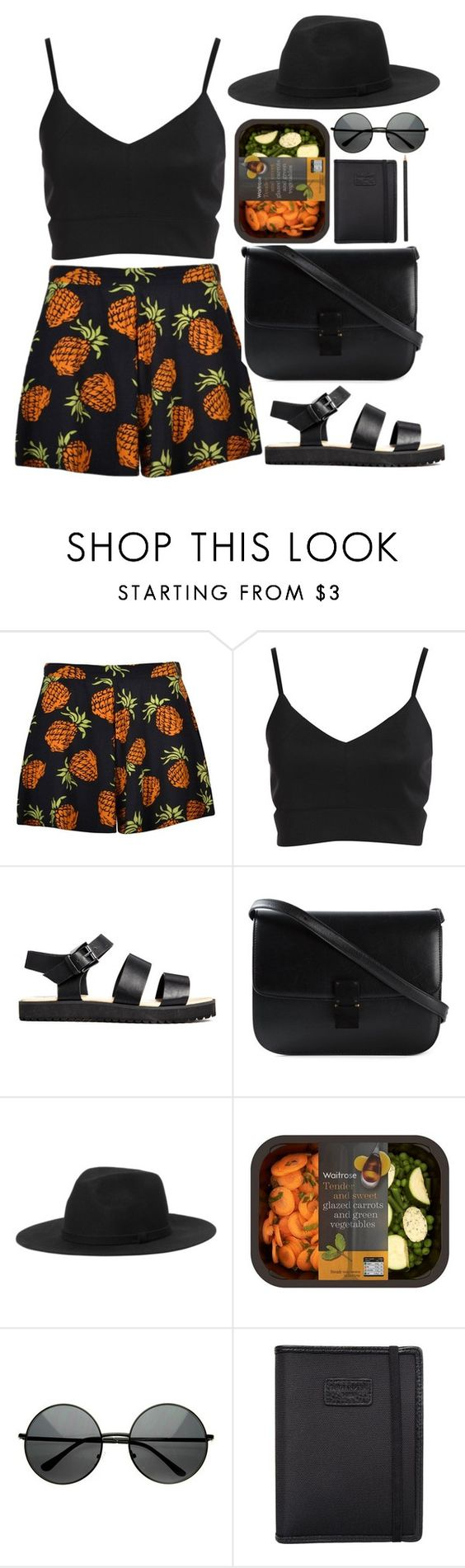 """casual"" by yanilobox ❤ liked on Polyvore featuring CÉLINE, Monki, ZeroUV, Nava and Hermès"