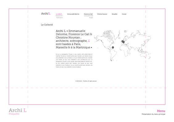 Archi L by Sophie Jean-Paul (Sophie M.) Emmanuelle Delorme, Florence Le Gall, Christine Nouvian •Collectif Archi L 2014 • http://www.archi-l.fr