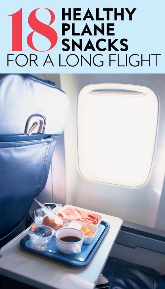 The Best Healthy Plane Snacks To Pack For A Long Flight Plane Snacks Long Flights Travel Snacks