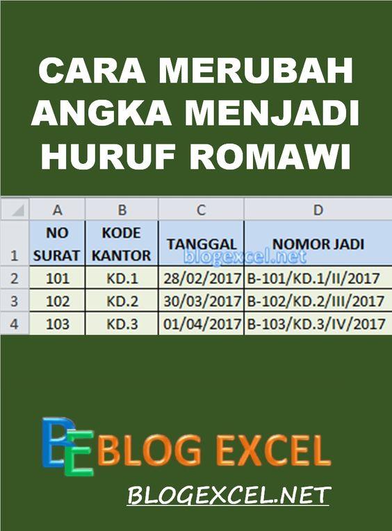 Excel dan Rumus Microsoft Excel: Cara Merubah Rumus ...