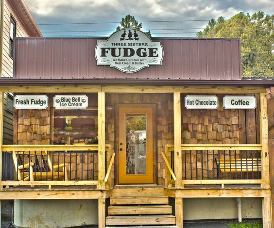 Homemade Fudge in Blue Ridge, Georgia