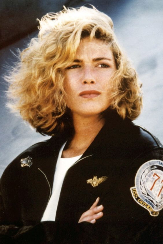 Stupendous Kelly Mcgillis Top Gun And Woman Hairstyles On Pinterest Hairstyle Inspiration Daily Dogsangcom