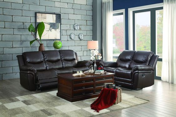 Homelegance 8515BRW-2 St Louis Park Collection Color \u2022 Dark Brown
