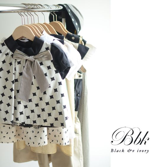 Summer 2015 #coco #black&ivory #kids