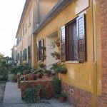 Torviscosa Case operai 3 dette case gialle Torviscosa, La company town della cellulosa  #Torviscosa #CompanyTown #Villaggioperai #Archeologiaindustriale #industrialheritage #FriuliVeneziaGiulia #cellulosa #SNIA