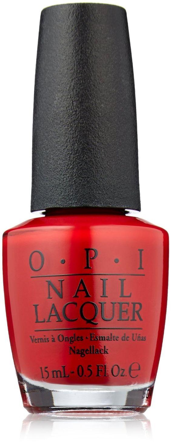 OPI Nail Polish, Big Apple Red, 0.5 fl. oz.