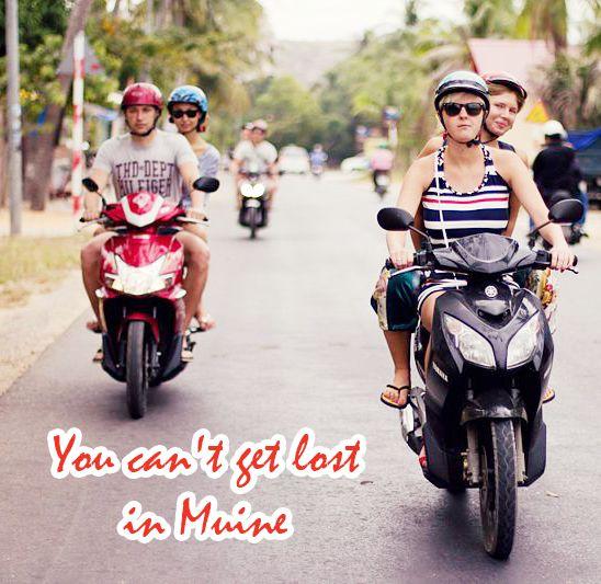 Hi guys! It would be awesome if we could get around Mui Ne – Phan Thiet on your own bike with light traffic. Always goes with your guardian – nice helmet. And let's enjoy the beauty of nature, culture,  mouth-watering local food and spectacular scene then!  Đừng quên thuê một chiếc xe máy để vi vu trên những con đường đẹp tại Phan Thiết - Mũi Né nhé! Hành trình sẽ rất tuyệt với những món ăn địa phượng thật ngon, mùi hương trong lành của thiên nhiên và những cảnh quang thật tuyệt vời…