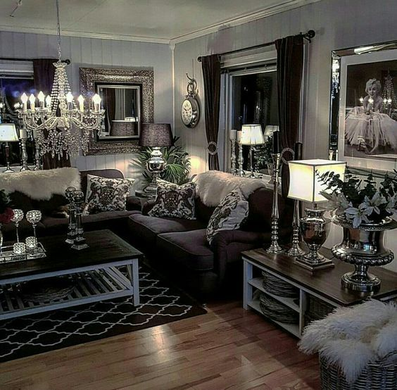 Classic And Comfortable Living Room Decoration Ideas Classic Living Room Decoration Comfort In 2020 Fancy Living Rooms Luxury Living Room Living Room Decor Apartment