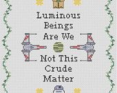 Star Wars Inspired Luminous Beings Sampler Pattern