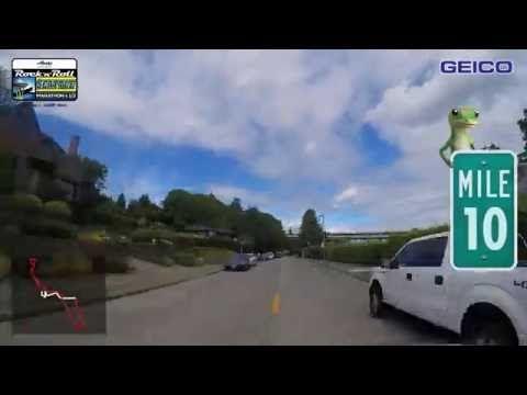 2016 Rock 'n' Roll Seattle Half Marathon Course Tour