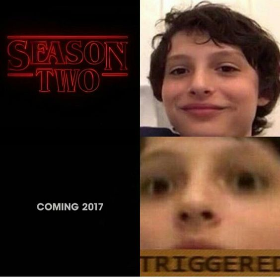 Stranger Things has consumed me honestly