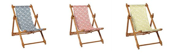 Serena & Lilly Sling Chairs!
