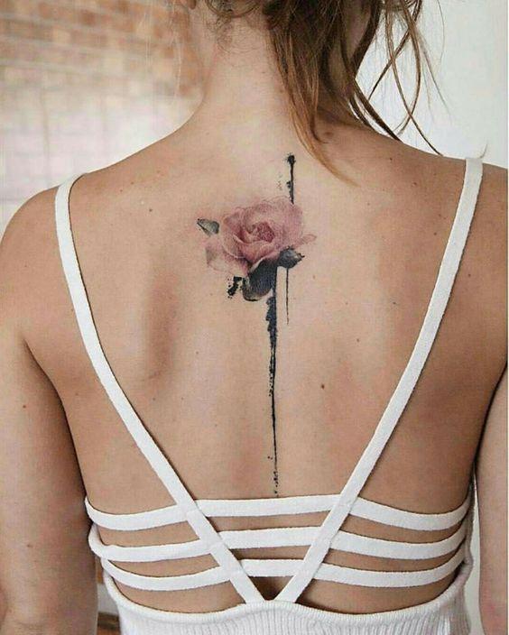 Flower Back Tattoo : flower, tattoo, Tattoos