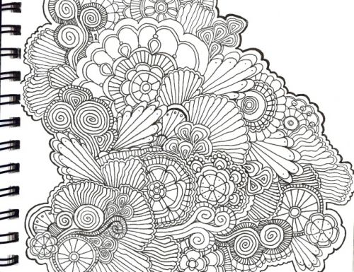 Swirls and paisley and circles and FUN.