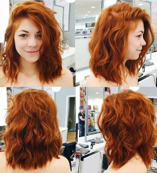 13 Glorious Red Hair Color On Medium Wavy Hair For 2020 In 2020