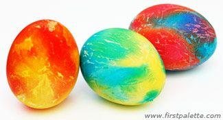 Tie-Dye Easter Eggs....So Me!
