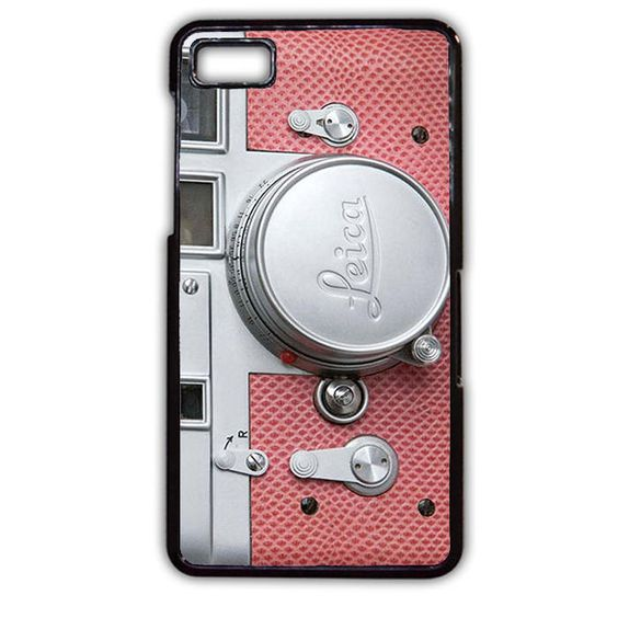 Pink Leica Camera Phonecase Cover Case For Blackberry Q10 Blackberry Z10