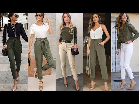 Moda 2020 2021 Looks Verde Militar Como Combinar Ropa Color Verde Oliva Tendencias De Ropa De Color Verde Pantalon Verde Militar Mujer Combinar Pantalon Verde