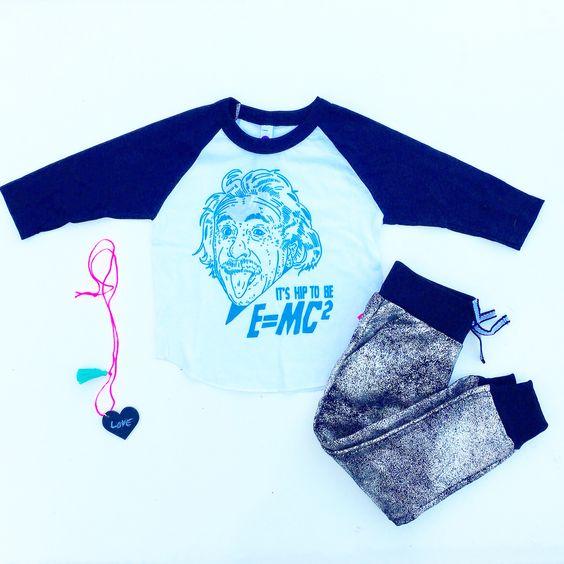 Einstein + glitter pants = sparkly genius