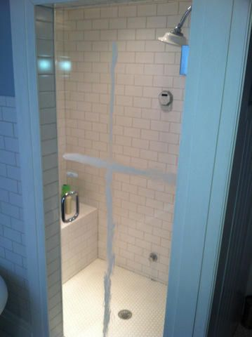 Removing soap scum from shower doors 4 methods and a for Bathroom soap scum removal