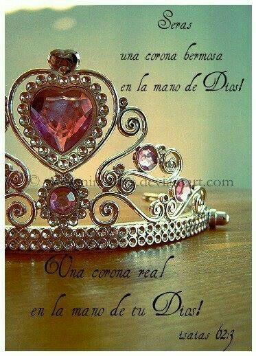 Una corona hermosa