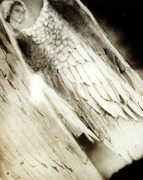 Werner Fuetterer as The Archangel. From: Faust, directed by F. W. Murnau, 1926.