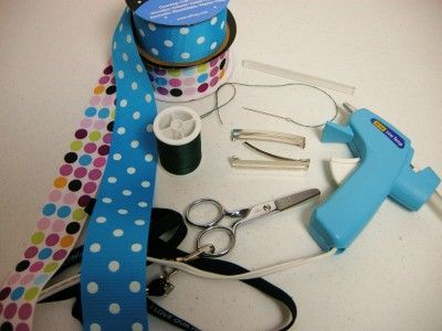 bow supplies (sewing):