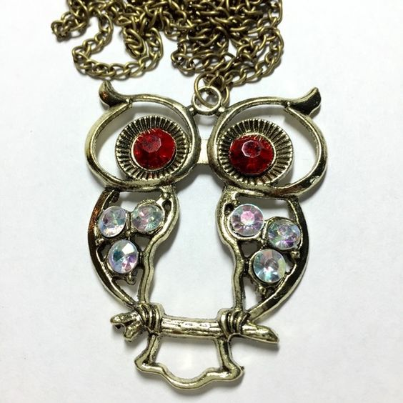 Big owl necklace Big owl necklace Jewelry Necklaces