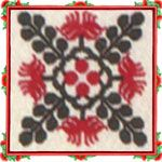 Free Hawaiian Quilt pattern from Quilts Hawaii - your Hawaiian Quilting source