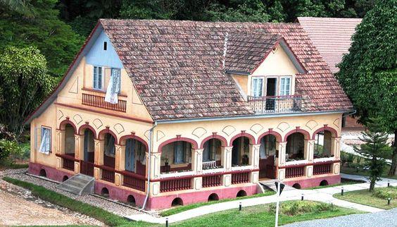 Casas estilo alemã