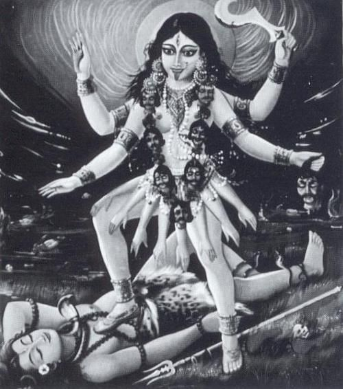 lord shiva and kali relationship