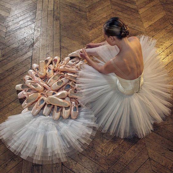 Fabuleux Danseuse, ballerine, tutu, danse classique, parquet | passion  EN53