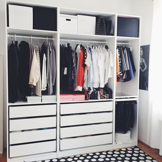 wardrobe systems ikea pax wardrobe and closet on pinterest. Black Bedroom Furniture Sets. Home Design Ideas