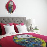 Found it at Wayfair - Clara Nilles Owl On Lipstick Duvet Cover Collection