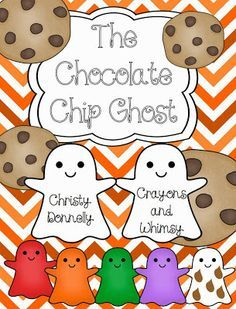 The Chocolate Chip Ghost {Freebie!} - I remember this cute little story when I was little... only it was a flannel board story.