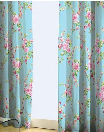 Shabby Chic curtains | All my favorite Home Decor. | Pinterest ...